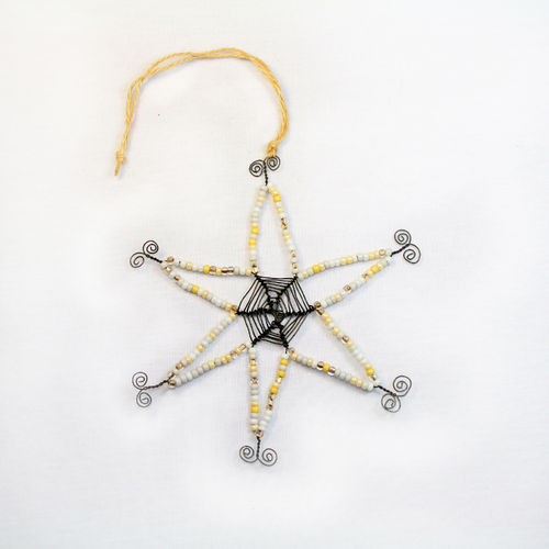 wire and glasbead star